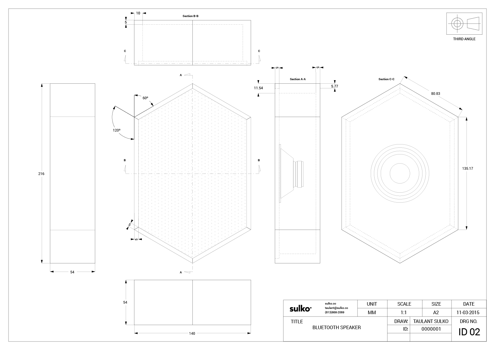 Hex Blueprint